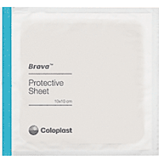 "Brava Skin Barrier Protective Sheets 4"" x 4"" [Box of 10] (Specia"