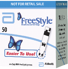 FreeStyle Blood Glucose Test Strip (50 count) [Box of 50]