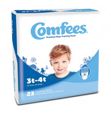 Comfees Boy Training Pants - Size 3T-4T (Case of 138)