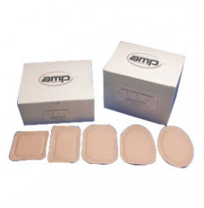 """Ampatch Style GX with 1 1/8"""" Round End Hole (Box of 50)"""