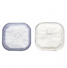 """Stoma Cap with Porous Cloth Tape Adhesive 3"""""""" Opening 4-1/4"""""""" (Box of 30)"""