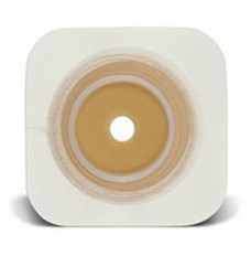 """Sur-Fit Natura Durahesive Cut-to-Fit Skin Barrier 4-1/2"""" x 4-1/2"""", 1-1/2"""" Flange (Box of 10)"""