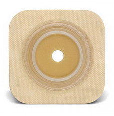 """Sur-Fit Natura Durahesive Cut-to-Fit Skin Barrier 4"""" x 4"""", 1-1/4"""" Flange (Box of 10)"""