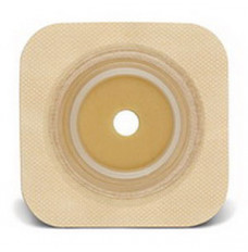 """Sur-Fit Natura Durahesive Cut-to-Fit Skin Barrier 4"""" x 4"""", 1-1/2"""" Flange (Box of 10)"""