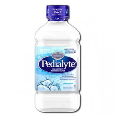 Pedialyte Unflavored, Retail 1 Liter Bottle (Case of 8)