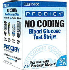 Prodigy No Coding Test Strip NFRS (50 count) [Box of 50]