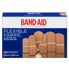Band-Aid Flexible Fabric Assorted 100 ct. (Box of 100)