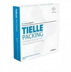 """TIELLE Packing Hydropolymer Dressing 3-5/8"""" x 3-5/8"""" (Case of 50)"""