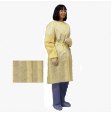 Lightweight Isolation Gown  Yellow  Universal (Package of 10)