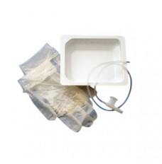 Dry Suction Catheter Kit 8 fr, with Rigid Basin (Case of 100)