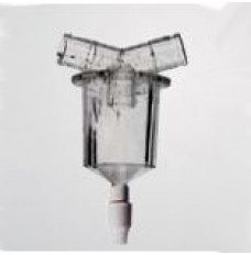 Disposable In-Line Water Trap with Twist Valve (Case of 50)