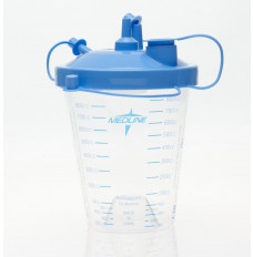 Suction Canister with Float Lid & Tubing, 850 cc [1 Each (Single