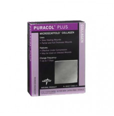 """Puracol Plus AG Collagen Dressing 2"""" x 2"""" [Box of 10]"""