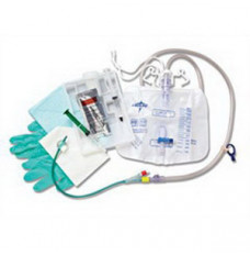 Silvertouch 100% Silicone Closed System Foley Catheter Tray 16 Fr 5 cc (Each)