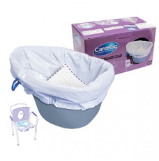 Commode Liner with Absorbent Pad (Each2)