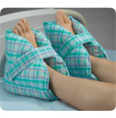Posey Quilted Heel Pillow, One Sz, Velcro Fastener [1 Pair]