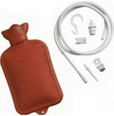 Combination Douche And Enema System w/Water Bottle (Each)