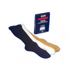 T.E.D. Knee Length Continuing Care Anti-Embolism Stockings Large, White (Each)