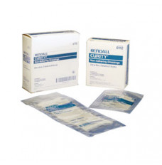 "CURITY Non-Adhering Oil Emulsion Dressing 3"" x 8"" Rectangle 3's"