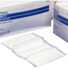 """Curity Sterile Abdominal Pad 7-1/2"""" x 8"""" [Tray of 18]"""