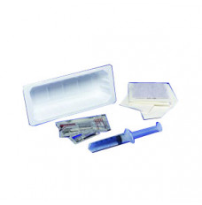 Kenguard Universal Catheter Tray with 10 cc Pre-Filled Syringe (Case of 20)