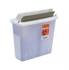 In-Room Sharps Container with Mailbox-Style Lid 5 Quart (Each)