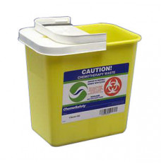 ChemoSafety Container with Hinged Lid 2 Gallon (Each)