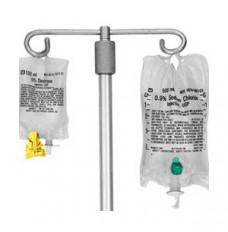 ChemoPlus IVA Seal for McGaw's Excel & Abbott's Small IV Bag, Silver (Case of 1000)