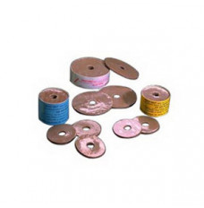 """Colly Seal, 3 1/2"""" Od, Yellow, Pre-Cut 1 3/8"""" (Package of 10)"""