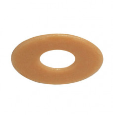 """Special Oval  Barrier Discs Cut To 1/2"""" x 3/4"""" I.D. (Box of 10)"""