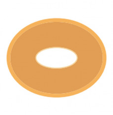 """Special Barrier #54 Oval Disc 1/2"""" x 5/8"""" I.D. 2-1/4"""" x 3-1/2"""" O.D. (Box of 10)"""