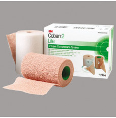 Coban Latex-Free 2-Layer Lite Compression System (Box of 1)