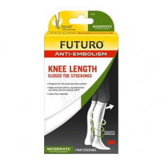 FUTURO Anti-Embolism Knee Length Stockings, Large (Each of 1)