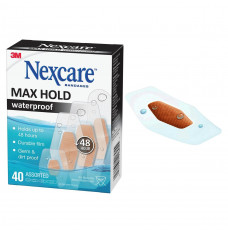 Nexcare Max Hold Assorted 40 ct (Box of 40)