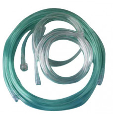 Star Lumen Oxygen Supply Tubing with Connector, 25 ft (Case of 25)
