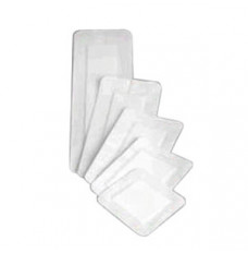 """Covaderm Adhesive Wound Dressing 4"""" x 4"""" with 2-1/2"""" x 2-1/2"""" Pa"""