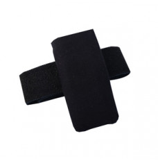 Pump Leg Pouch, Black [1 Each (Single)] (Special Order. Allow 2