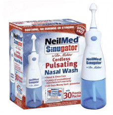 Sinugator Pulsating Nasal Wash Kit (30 Packets) [30 Each]