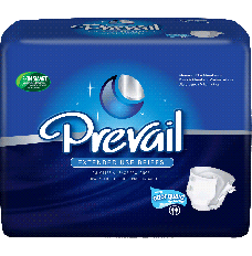 """Prevail PM Extended Wear Brief Large 45"""" - 58"""" [Bag of 18]"""