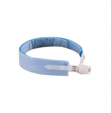 Adult Two-Piece Trach Tube Holder, Blue (Box of 10)