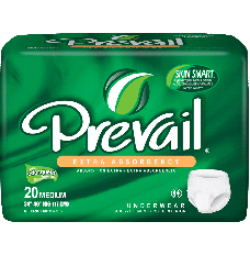 """Prevail Protective Underwear 2X-Large 68"""" - 80"""" [Bag of 12]"""