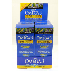 OmegaWorks Ultra Omega 3 Counter Display [1 Each (Single)]