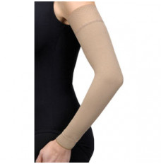 Bella Lite Arm Sleeve with Silicone Band, 20-30 mmHg, Small, Regular, Beige (Each)