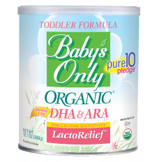 Baby's Only Organic LactoRelief Toddler, 12.7 oz. (Each of 1)