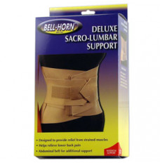 "Bell-Horn Deluxe Sacro-Lumbar Support, Small 24"" - 30"" Waist, Beige (Each of 1)"