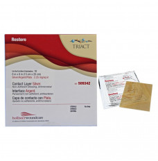 "Restore with Silver Wound Contact Layer Dressing, 6"" x 8"" (Each of 1)"