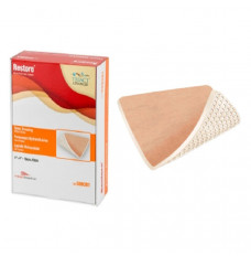 """Restore Foam Dressing without Border, 4"""" x 4"""" (Box of 10)"""