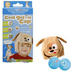 Cool Gel N Cap Kids Ice and Heat Packs with First Aid Cap, Toby The Puppy (Each of 1)
