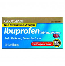 Ibuprofen Tablet, 200 mg (100 Count) (Case of 2400)