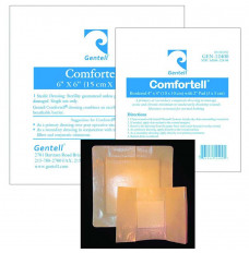 """Comfortell Composite Dressing, 4"""" x 4"""" (Package of 12)"""